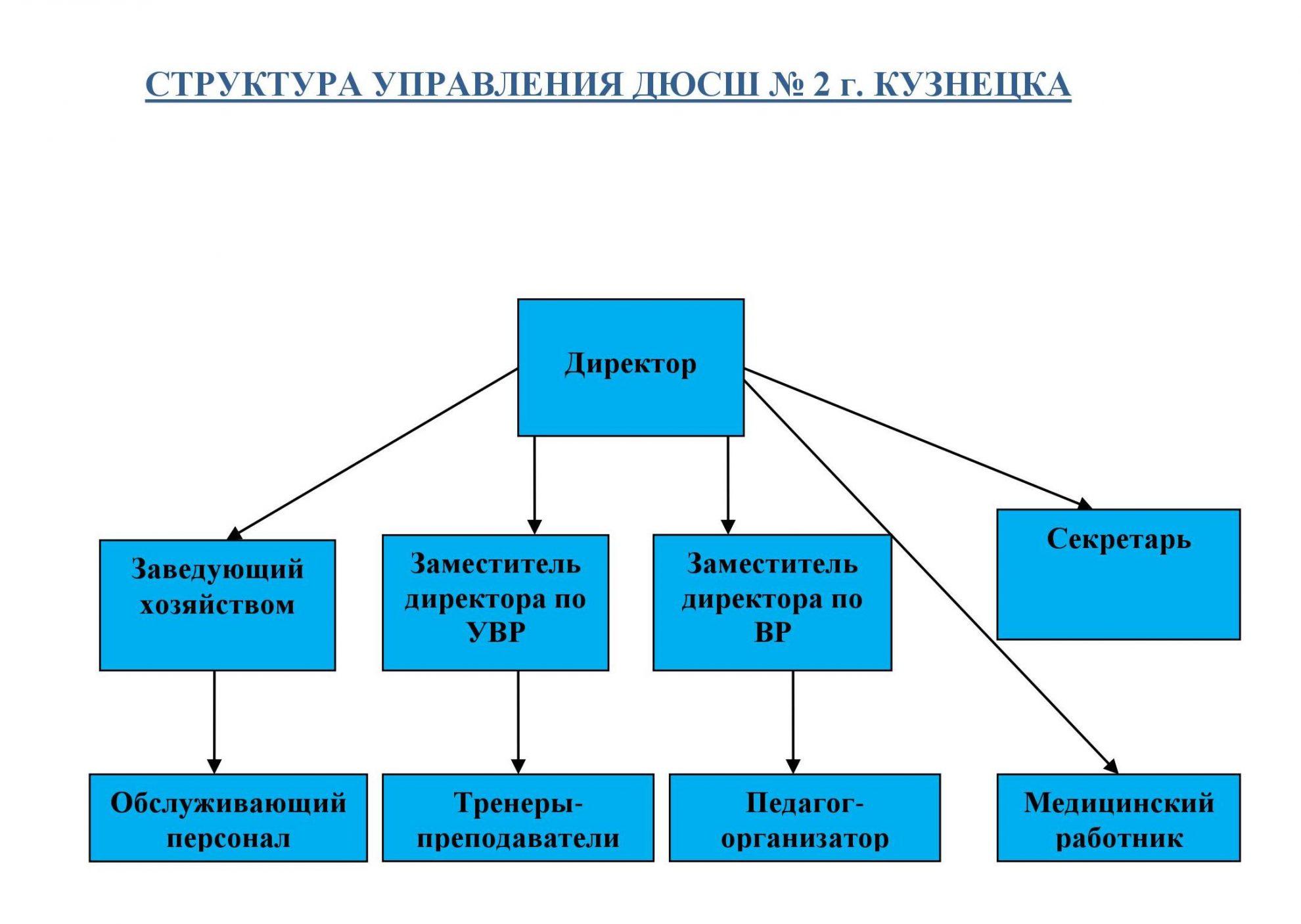 Структура организации схемы